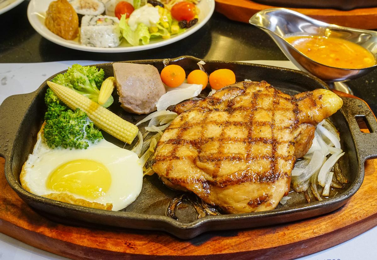 [高雄]城市商旅魅麗海西餐廳-超值排餐+自助吧吃到飽飲料無限暢飲 @美食好芃友