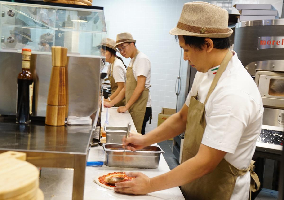 [高雄pizza推薦]真好煮義-道地南義風味pizza!會呼吸的餅皮x新鮮現做起司 @美食好芃友