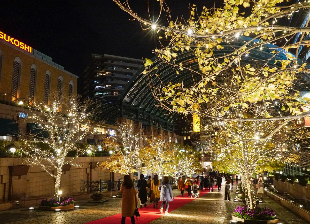 [東京聖誕點燈]惠比壽花園廣場-惠比壽站日劇經典取景場景~來走一趟夢幻聖誕大道 @美食好芃友
