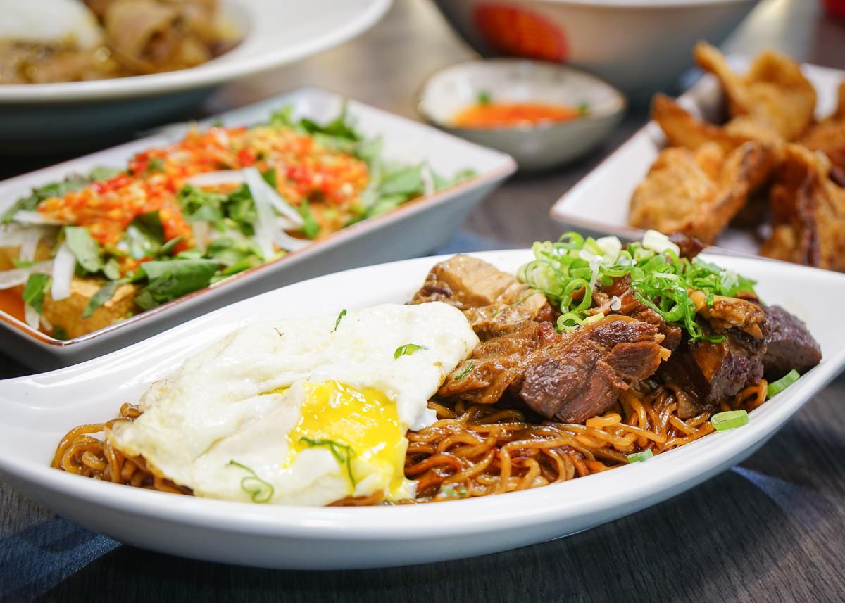 [高雄馬來料理推薦]家鄉牛什-超特別馬來西亞菜!香濃牛肉撈麵x經典牛雜湯x必吃炸牛肉雲吞 @美食好芃友