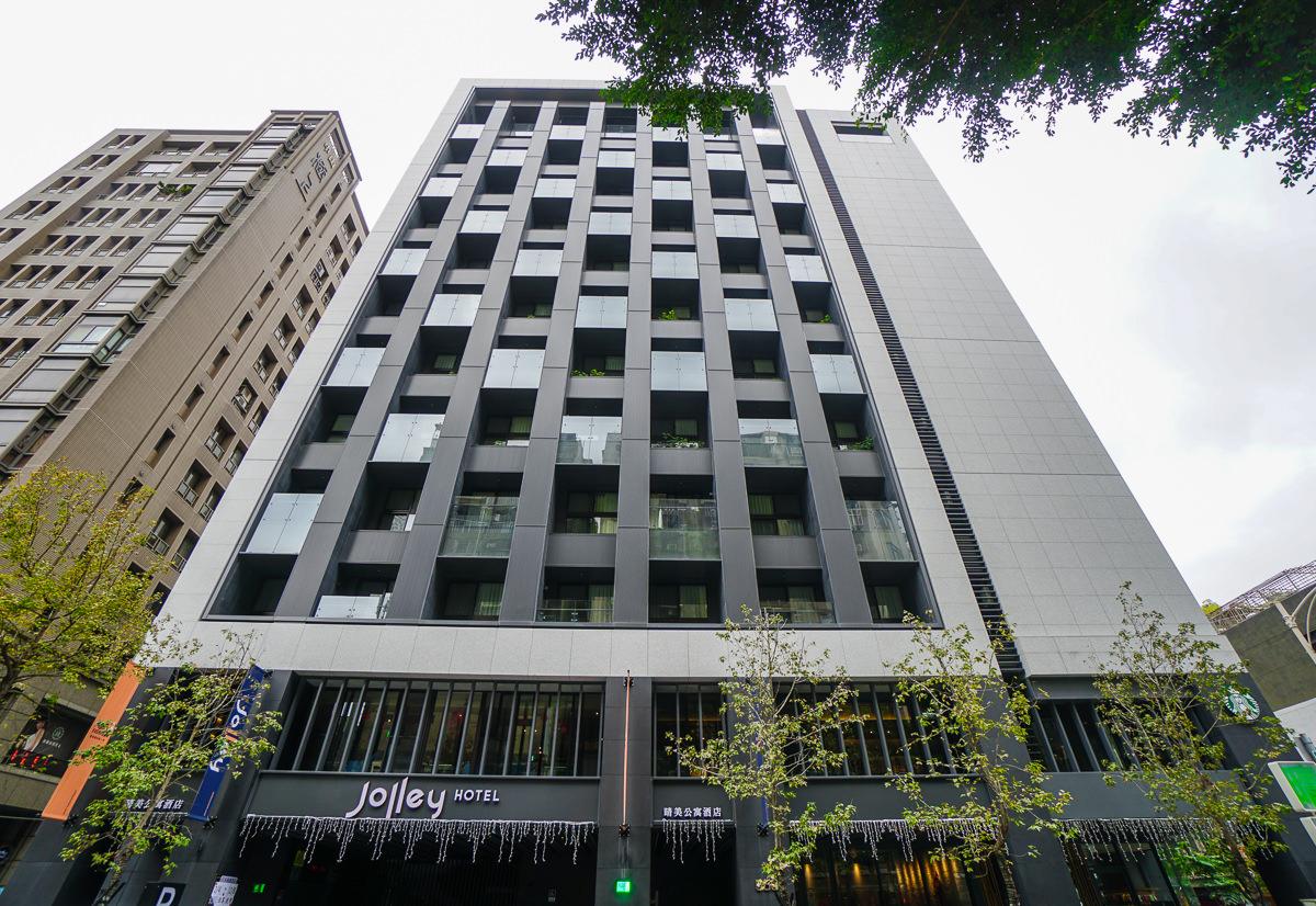 [台北住宿推薦]Jolley Hotel 晴美公寓酒店-走路3分到捷運!台北市區歐美系質感大空間公寓旅店 @美食好芃友