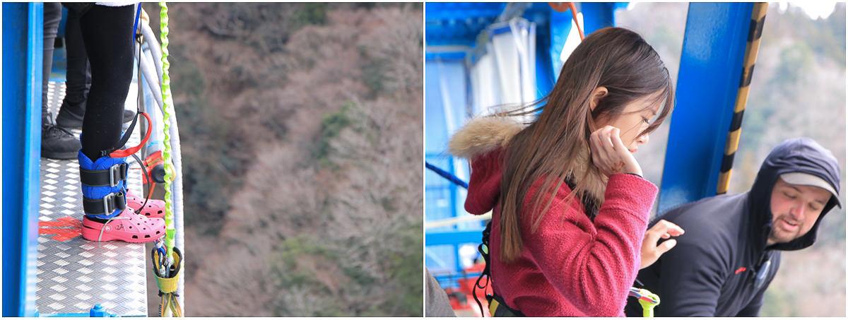 [茨城景點]龍神大吊橋-茨城賞楓必來!被絕美景色包圍的高空彈跳x龍神峽獨木舟體驗 @美食好芃友