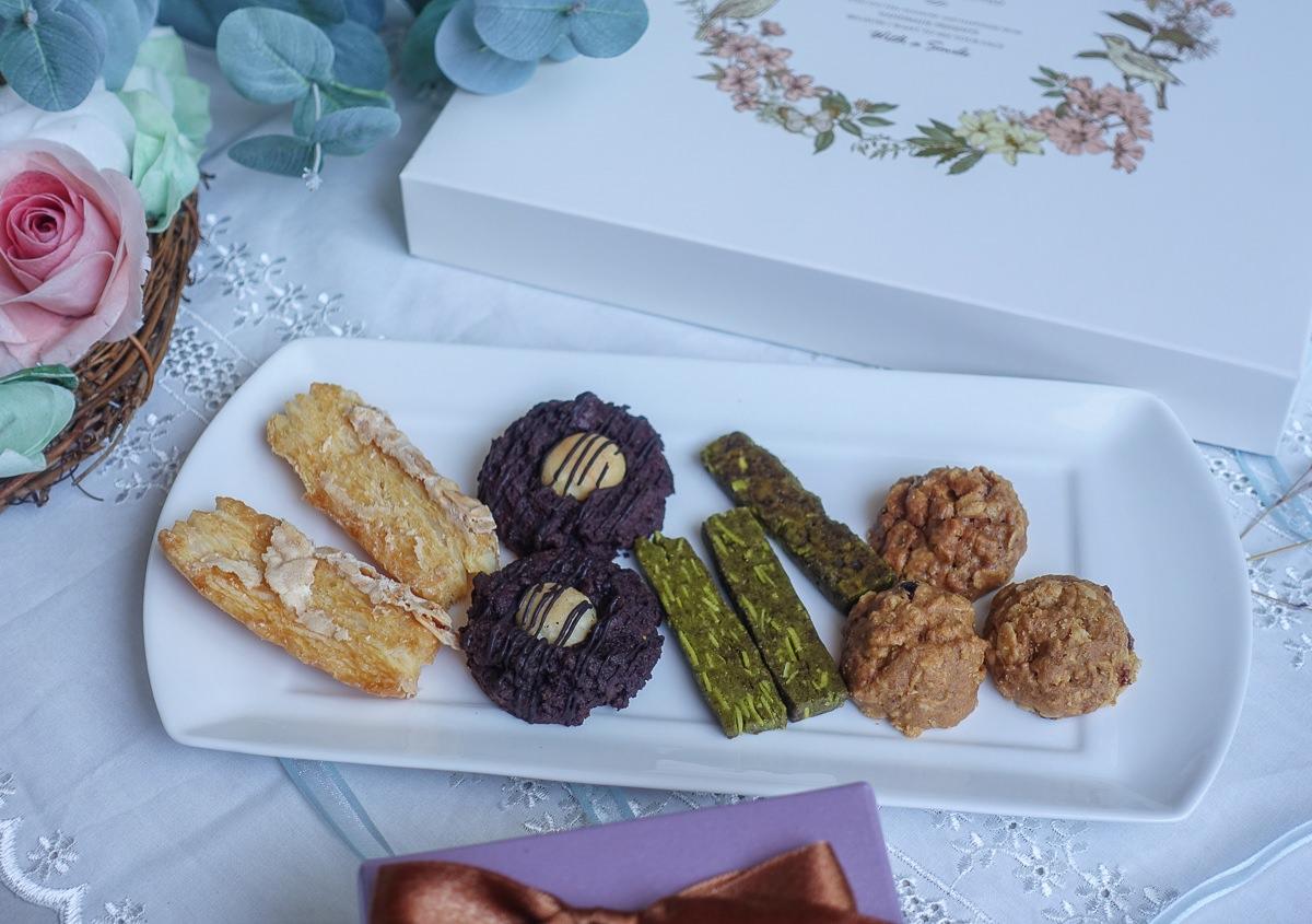 [高雄喜餅推薦]中村文御手作喜餅-份量實在!又美又好吃的平價手工喜餅禮盒 @美食好芃友