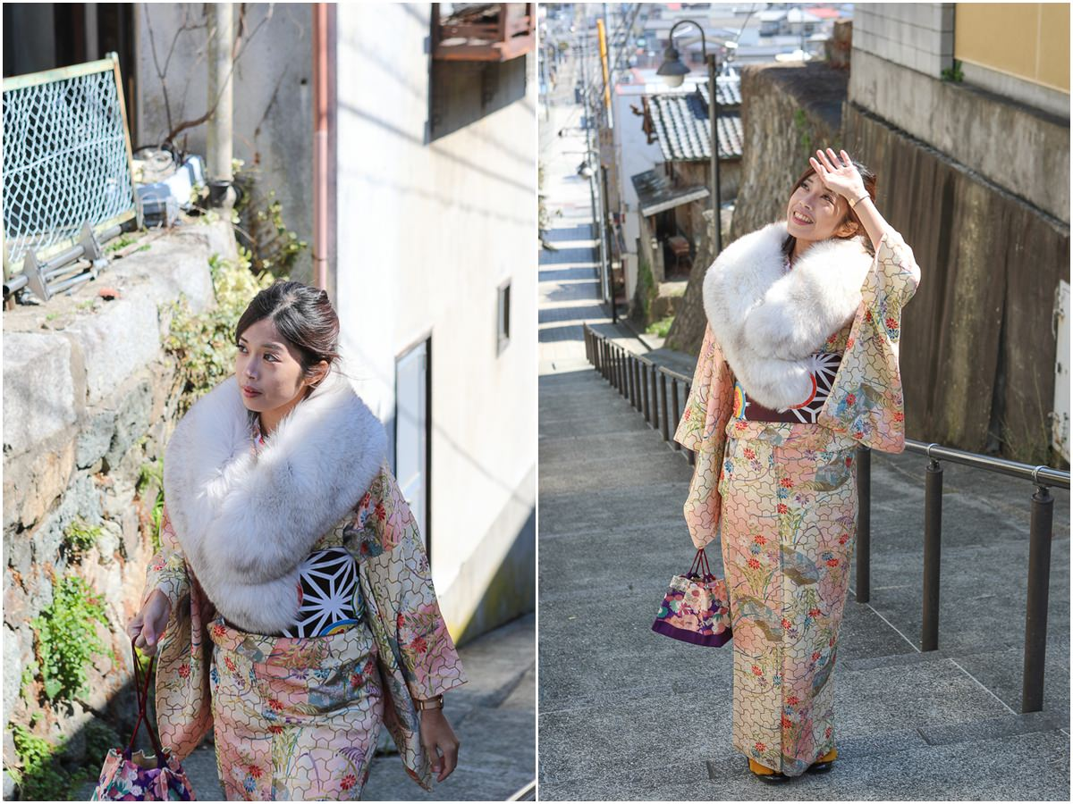[茨城景點]常陸太田鯨ヶ丘商店街半日遊-穿和服逛江戶風老街x吃不完的在地美食 @美食好芃友