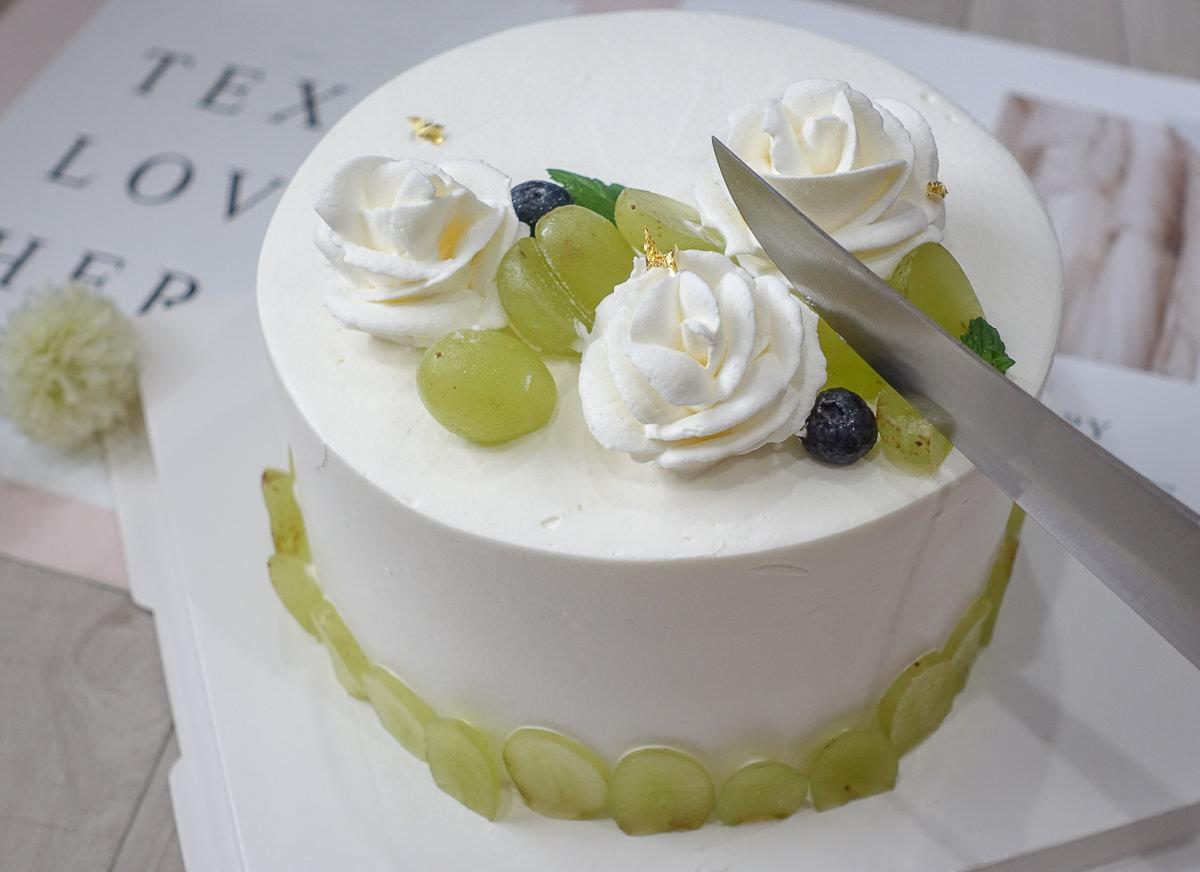 [高雄甜點推薦]晴。晨 Morning Sun Dessert-驚艷巷弄甜點!芋頭控必吃濃郁芋頭塔x優雅綠葡萄蛋糕 @美食好芃友