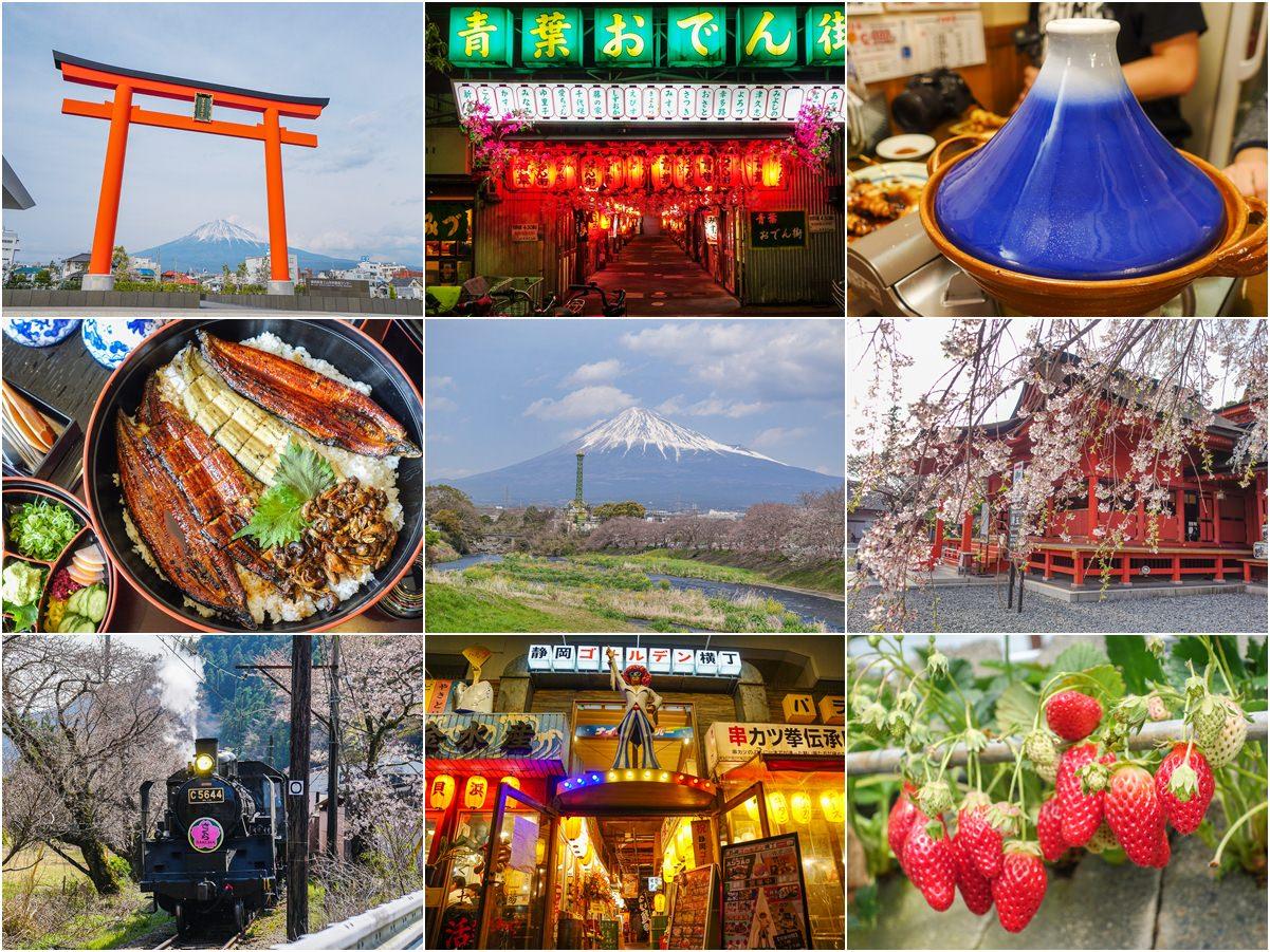 [靜岡旅遊]金龍旅遊大人の靜岡五天四夜行程:富士山秘境深度探險~行程自由美食吃不完 @美食好芃友