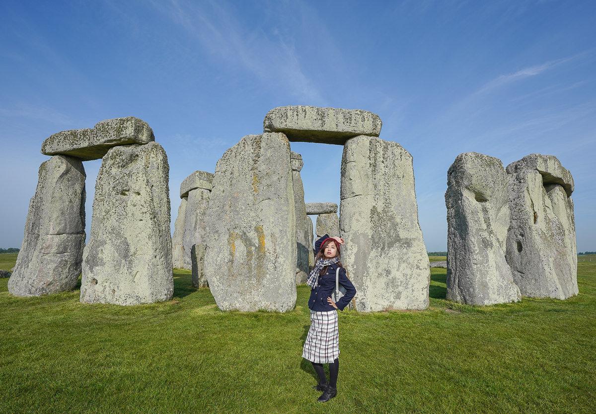 [英國旅遊]超限定近距離深入巨石陣~巨石圈、拉科克小鎮、巴斯一日遊 @美食好芃友