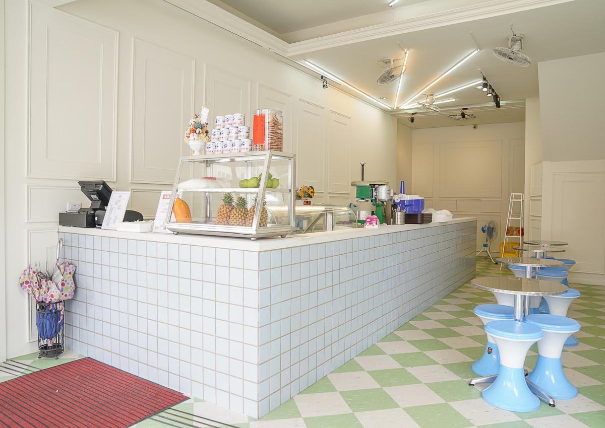 [高雄冰店推薦]秀珠冰菓室-來碗透心涼冰火湯圓~瑞豐夜市周邊復古小冰店 @美食好芃友