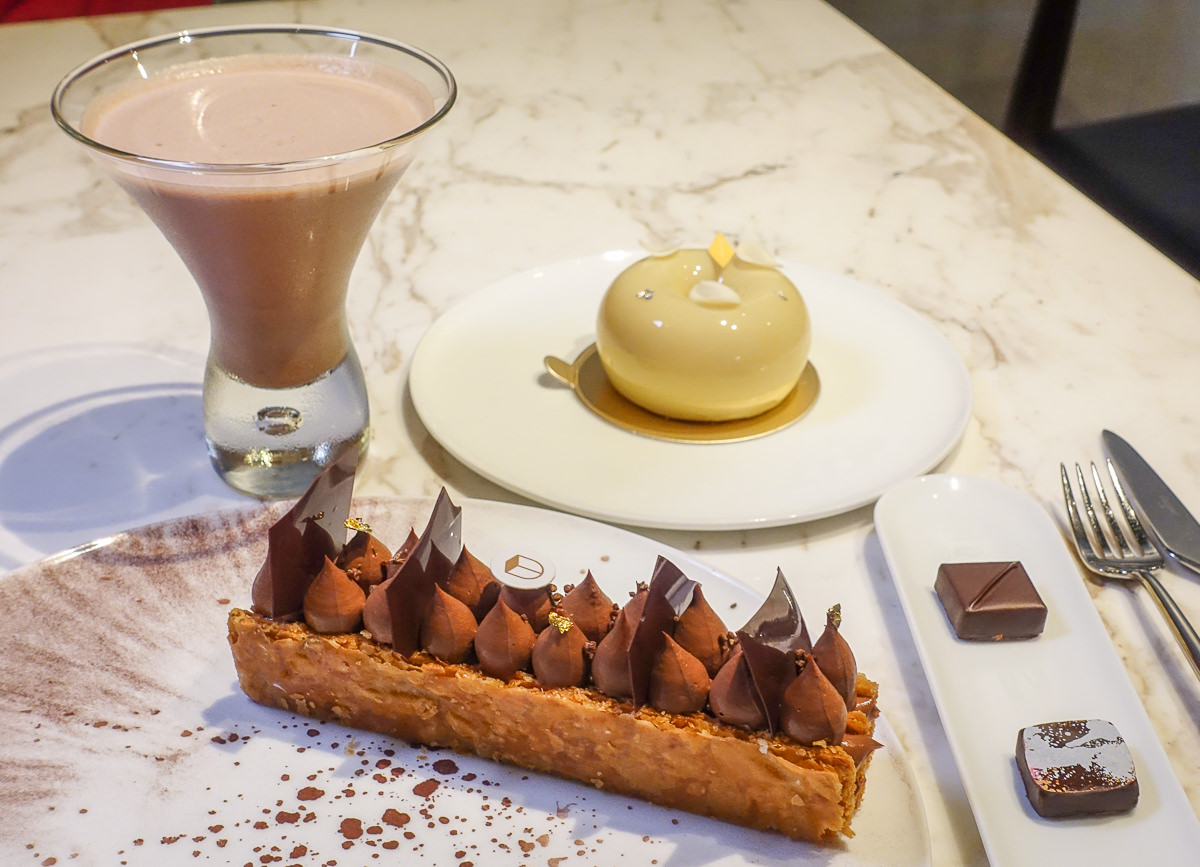 [台北]Yu Chocolatier 畬室法式巧克力甜點創作-仁愛圓環小巷的世界得獎巧克力 @美食好芃友