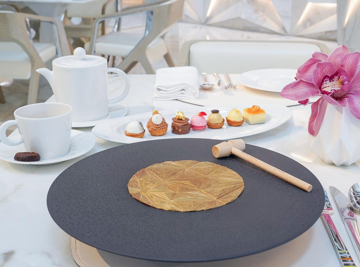 [澳門美食]摩珀斯Morpheus酒店-甜點控必朝聖Pierre Hermé下午茶 @美食好芃友