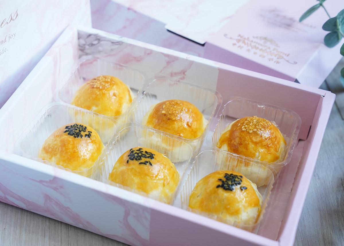 [高雄月餅推薦]中村文御手作-真材實料蛋黃酥禮盒! 預購搶翻天 @美食好芃友