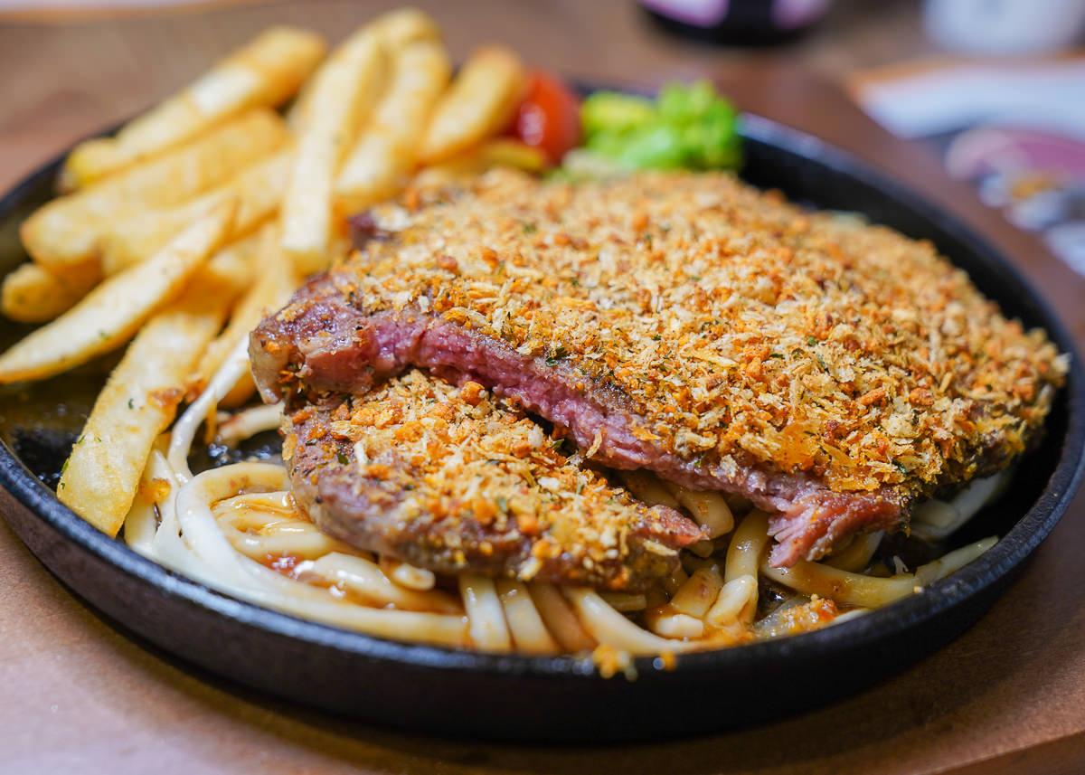 [高雄]肉肉先生Mr.zozo-爽爽吃肉肉~平價大份量牛排+無限沙拉吧一人不用350 @美食好芃友