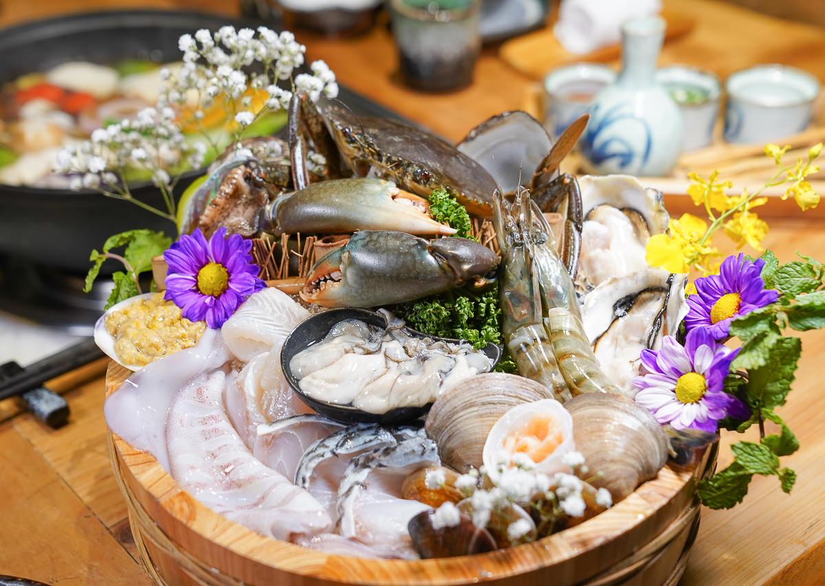 [台中火鍋推薦]暮藏和牛鍋物-老饕帶路低調美食~頂級和牛活體海鮮鍋物! 生意好到平日也爆滿 @美食好芃友