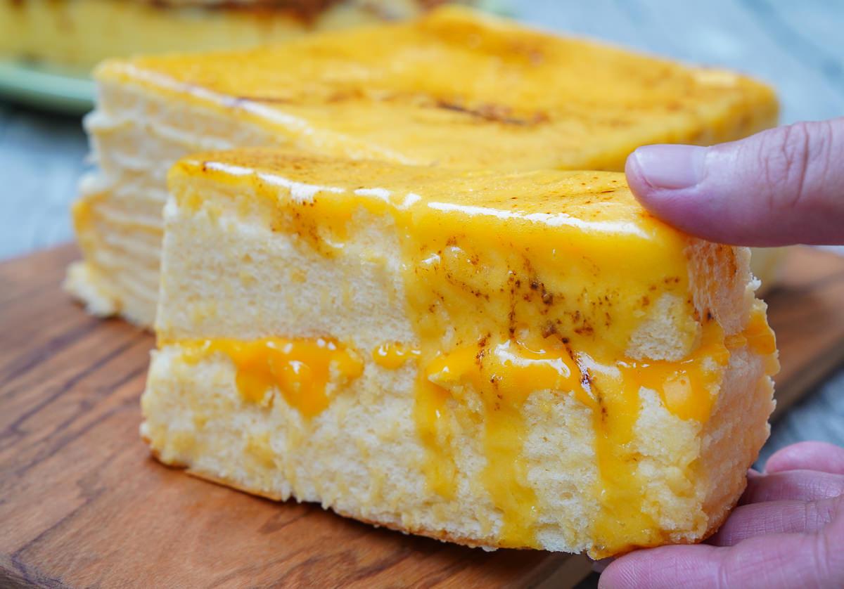 [高雄]朵玫絲甜點森林-每週只賣2天~限定隱藏版爆漿「拔絲提拉米蘇」古早味蛋糕 @美食好芃友