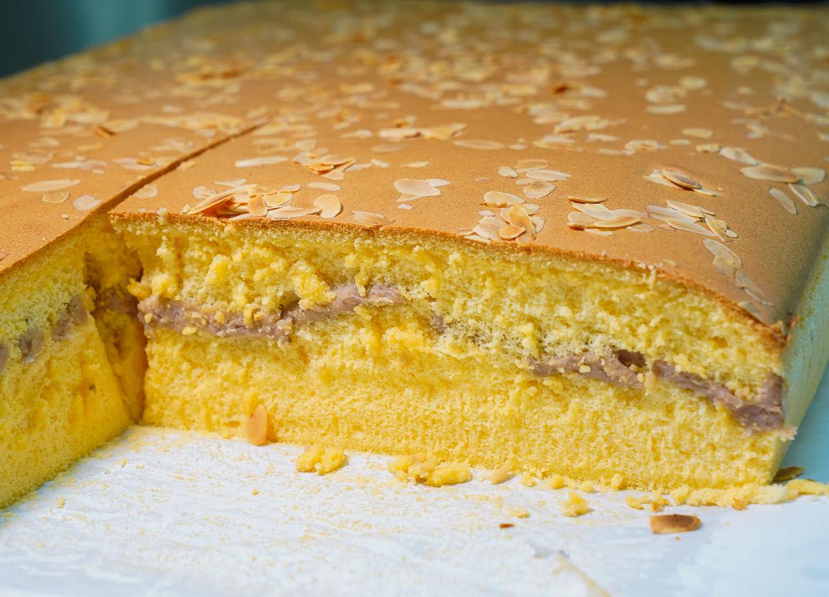 [高雄]笛爾手作現烤蛋糕五甲店-樸實耐吃古早味蛋糕~堅持不加一滴水!每日手工新鮮現作 @美食好芃友