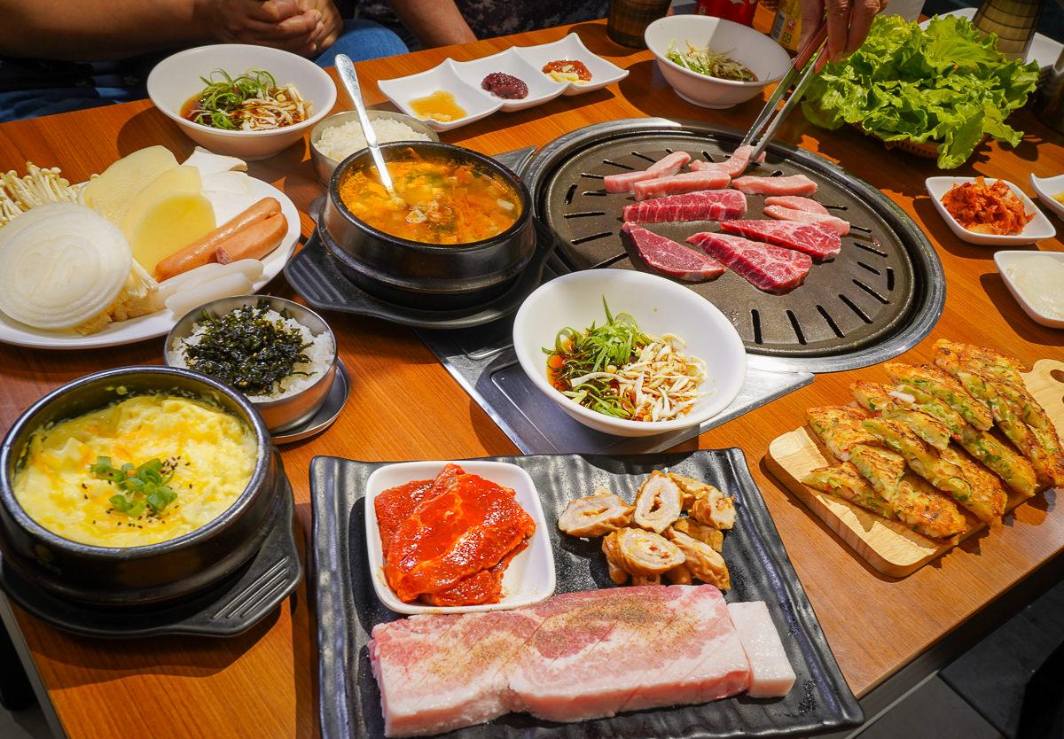 [高雄巨蛋美食]讚呀!正宗韓式烤肉-高雄最豪氣烤韓國厚切豬五花~ @美食好芃友
