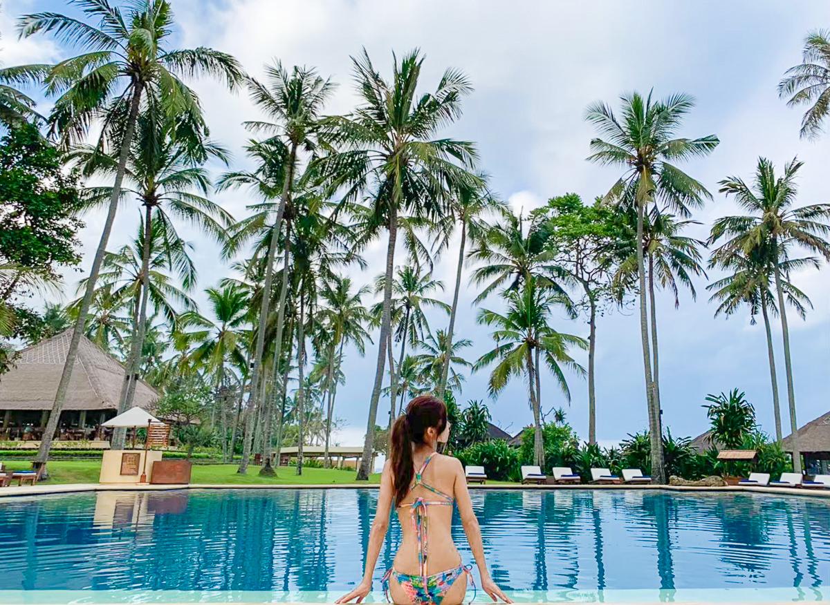 [峇里島住宿推薦]ALILA MANGGIS BALI-讓人不想走的夢幻藍海~慵懶氣圍頂級渡假村 @美食好芃友