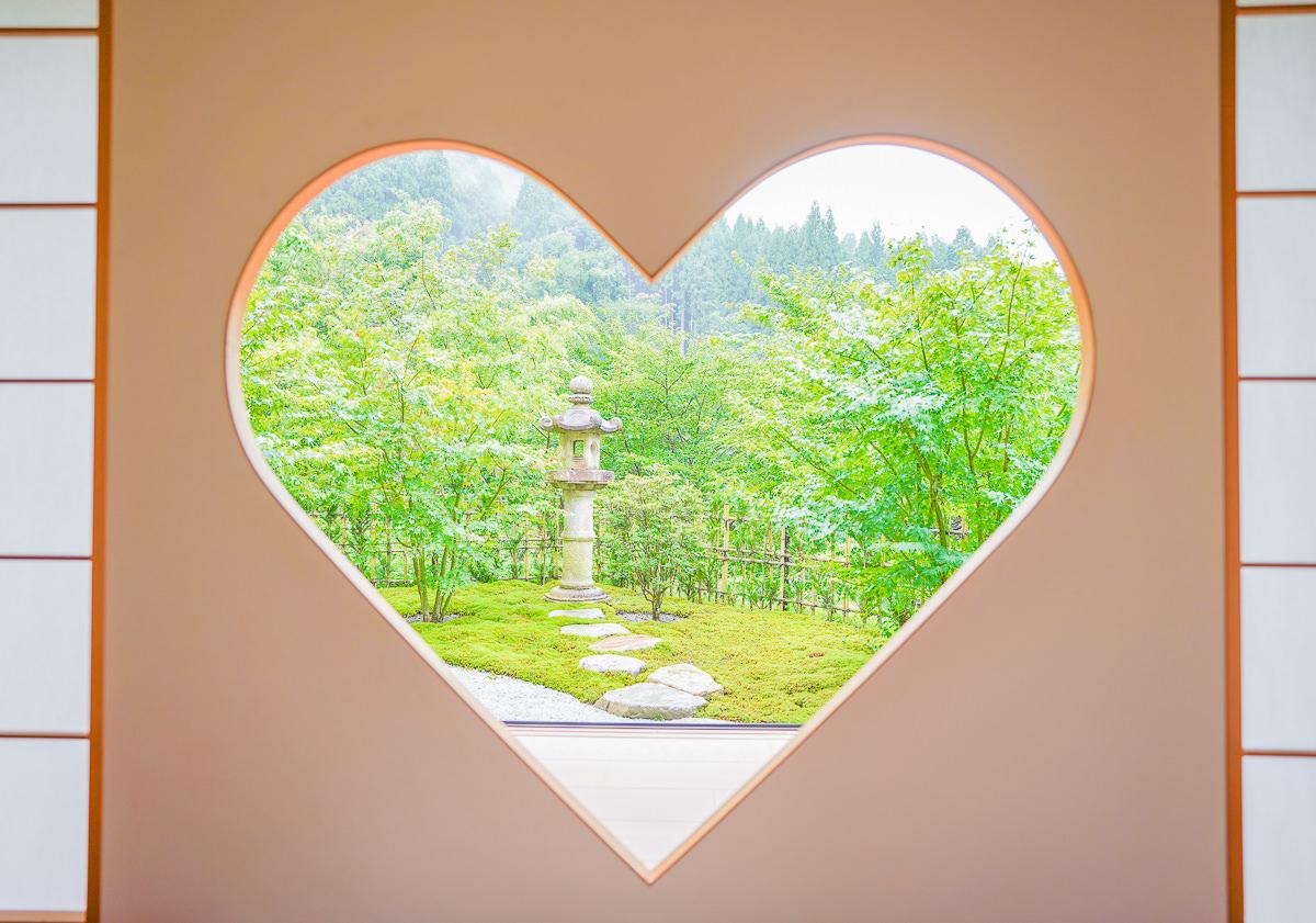 [京都景點]京都宇治正壽院-超夯京都打卡景點~少女心噴發的心型窗景 @美食好芃友