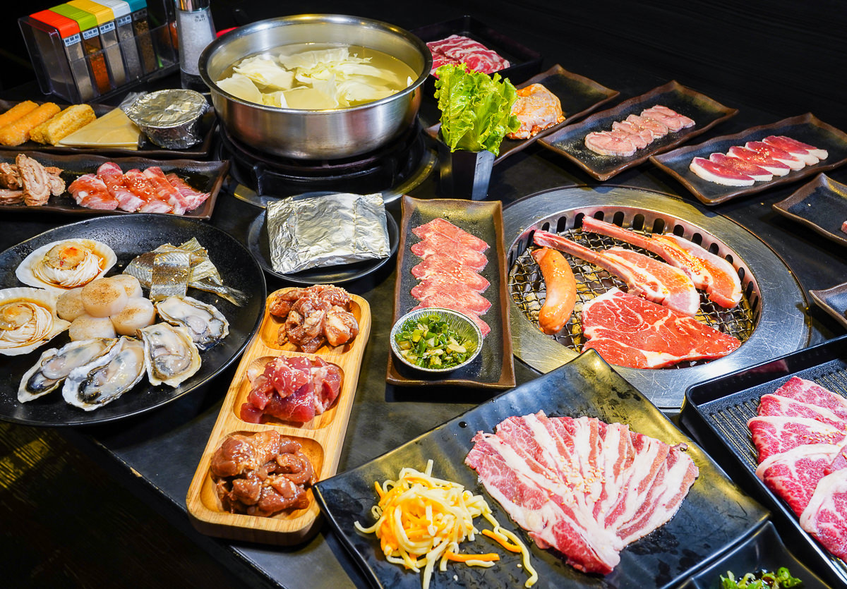 [高雄吃到飽推薦]老爺燒肉-肉類海鮮生蠔~燒烤/火鍋爽爽吃到飽!超過100多種食材任你挑 @美食好芃友