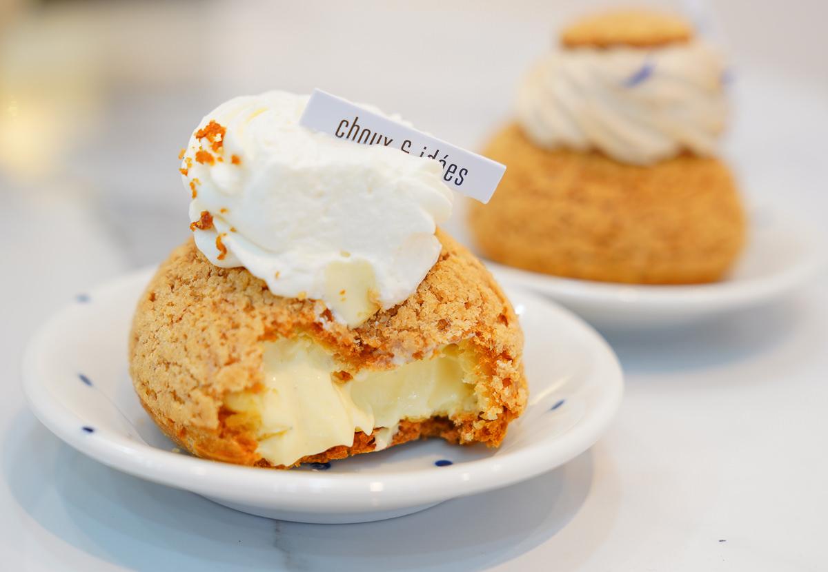 [高雄]choux & idées憶點甜.手做甜點-超驚豔!貴婦級法式泡芙~居然只賣銅板價 @美食好芃友