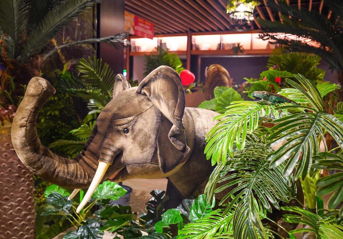 [高雄三民美食]愛.雨林餐廳-悅誠廣場最潮森林系餐廳~天然食材華麗擺盤 @美食好芃友