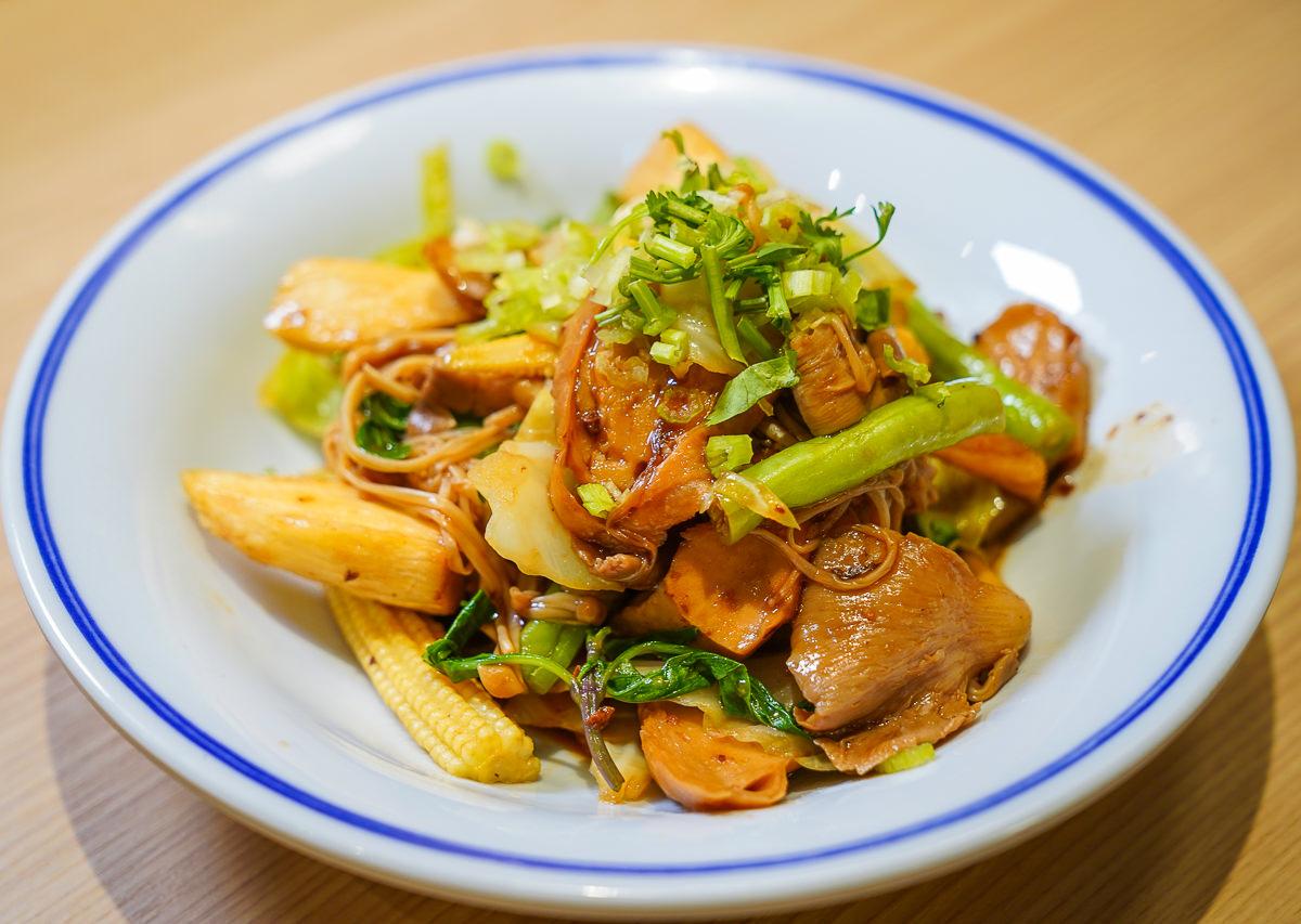 [高雄前金美食]五梅先生-漢來美食新品牌~漢神百貨美食街超好吃平價蔬食料理 @美食好芃友