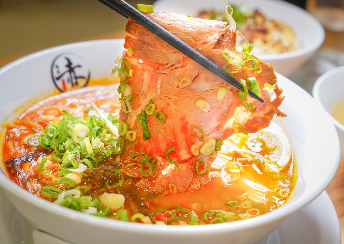 [高雄]赤麵廠レッドラーメン新崛江-超有氣氛日式屋台拉麵x暖暖關東煮!晚餐賣到宵夜 @美食好芃友