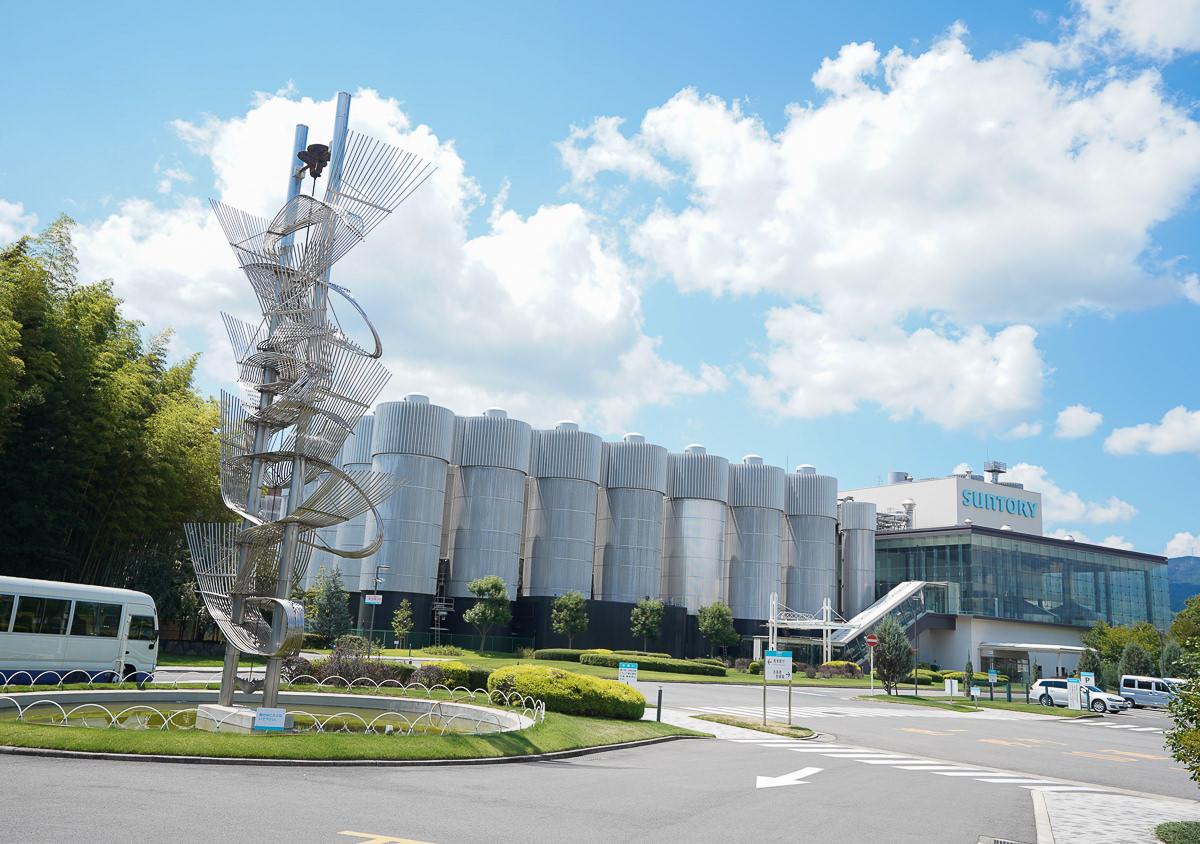 [京都景點]京都長岡京市半日遊-Suntory啤酒工廠見學、賞楓名所光明寺、向日竹林、漢堡排 @美食好芃友