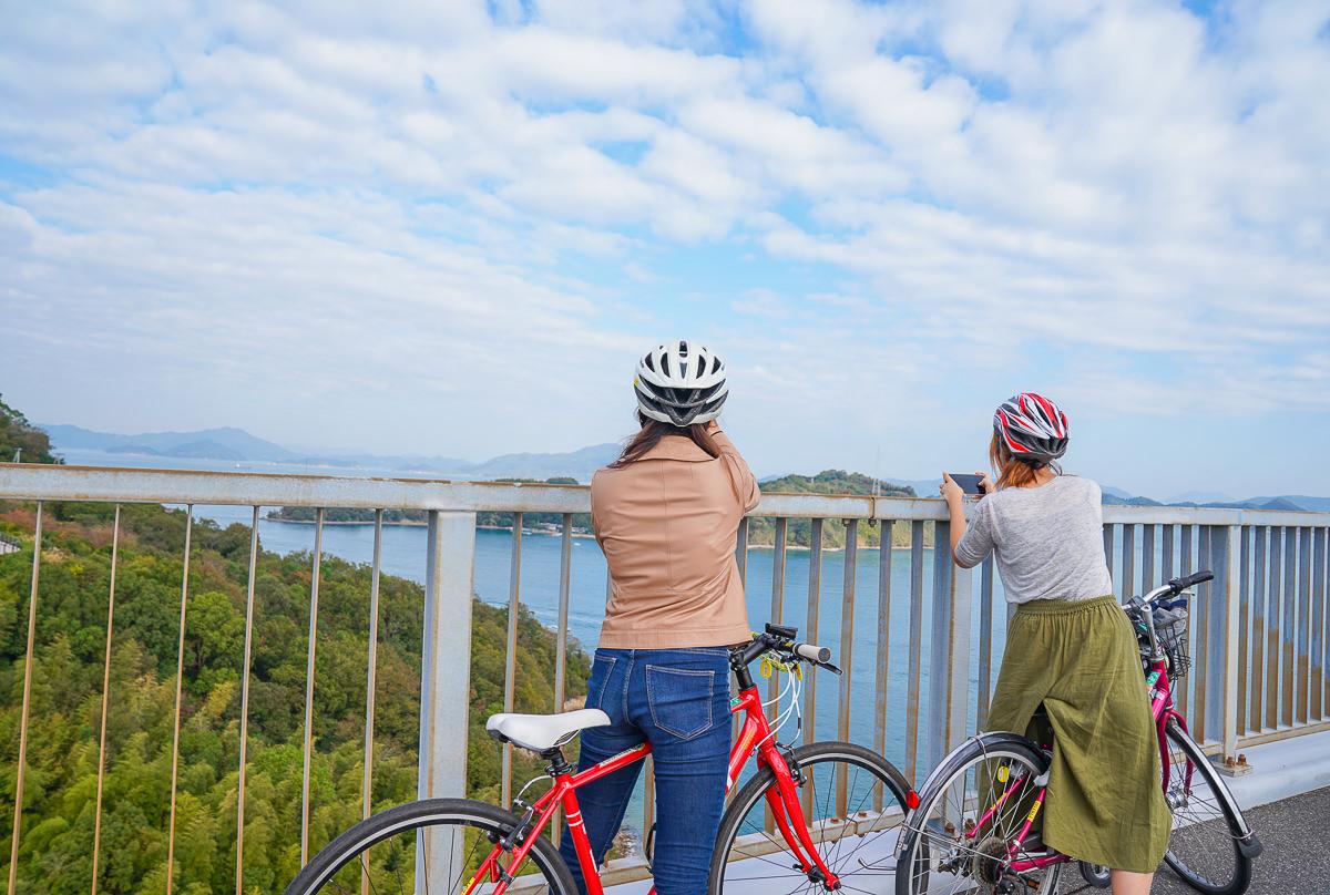 [愛媛景點]來島海峽大橋-最美海景自行車道~愛媛島波海道自行車半日遊 @美食好芃友