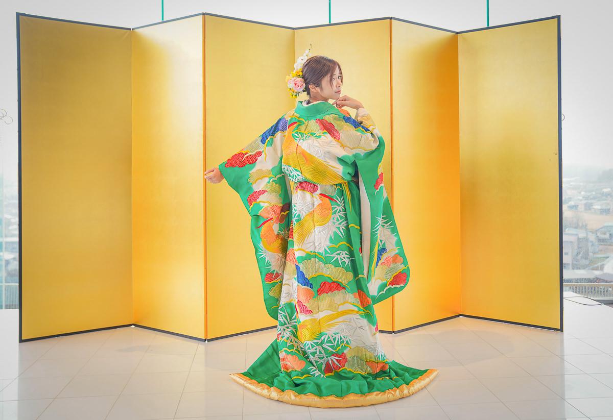 [京都]最特別最華麗京都和服體驗~2500円穿色打掛當傳統日本新娘 @美食好芃友