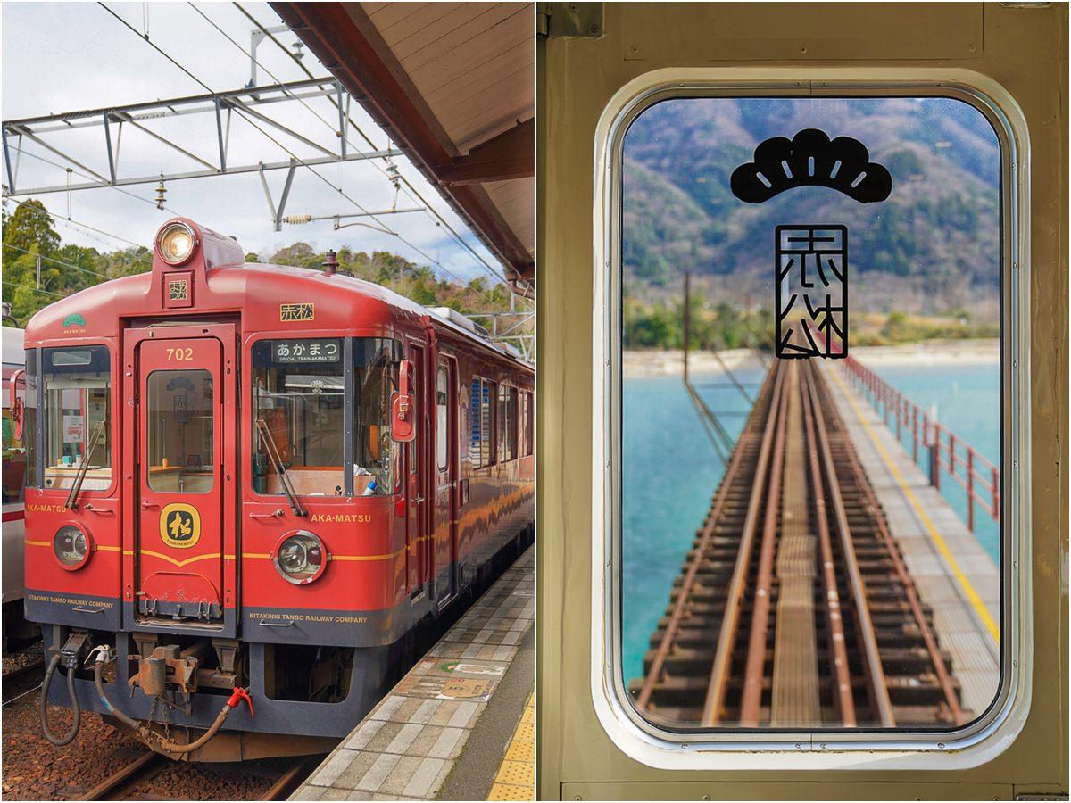 [京都景點]丹後鐵路赤松號-和千尋無臉男一起去找錢婆婆!必朝聖《神隱少女》海上列車場景 @美食好芃友