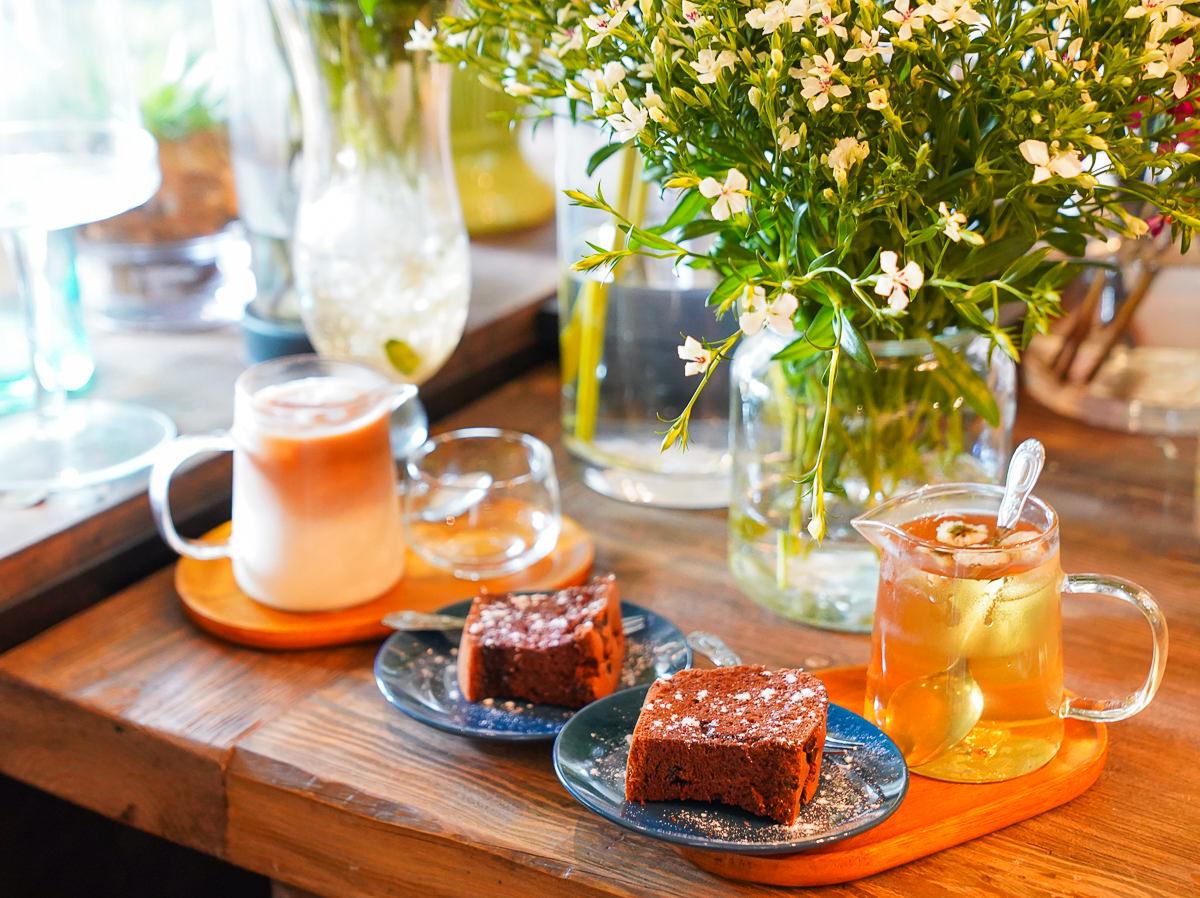 [高雄]Gooday Cafe & Living-低調植栽花藝咖啡店~水泥都市的小花園 @美食好芃友