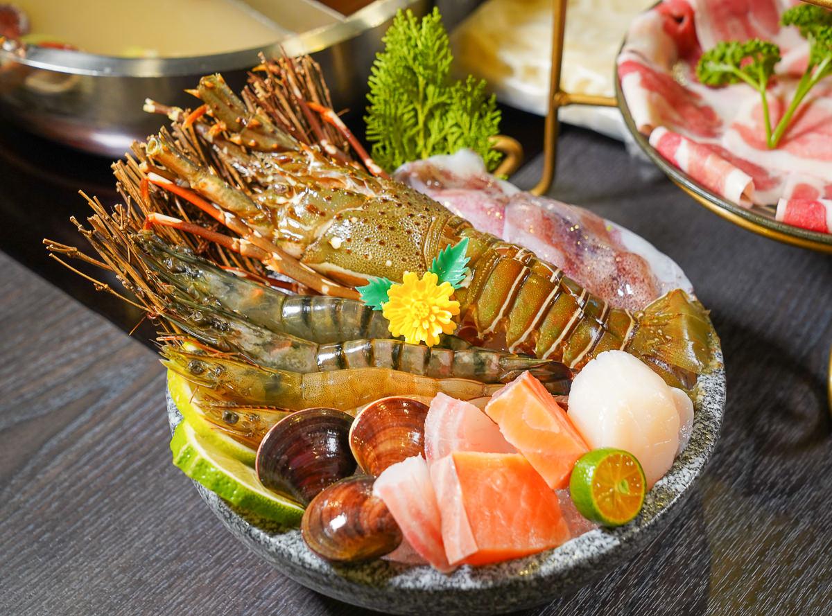 [高雄三民美食]舞古賀鍋物專門店(天祥店)-狂嗑肉和海鮮!龍蝦+兩盤肉鍋物不用700! @美食好芃友