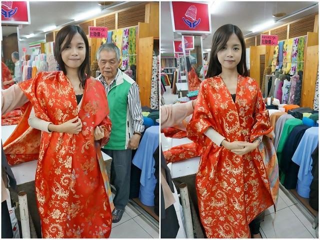 [Wedding]文定大紅旗袍才正點!推薦高雄平價旗袍訂做-藍白旗袍專家 @美食好芃友