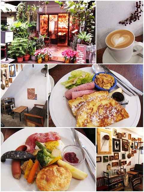 [台北板橋]小巷弄溫馨營養早餐-Merci Cafe @美食好芃友