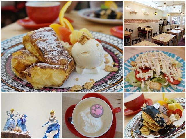 [高雄]少女必吃下午茶!迷人法式布丁燒X美味鬆餅-Cinderella仙杜瑞拉鐵板甜點主題餐廳 @美食好芃友