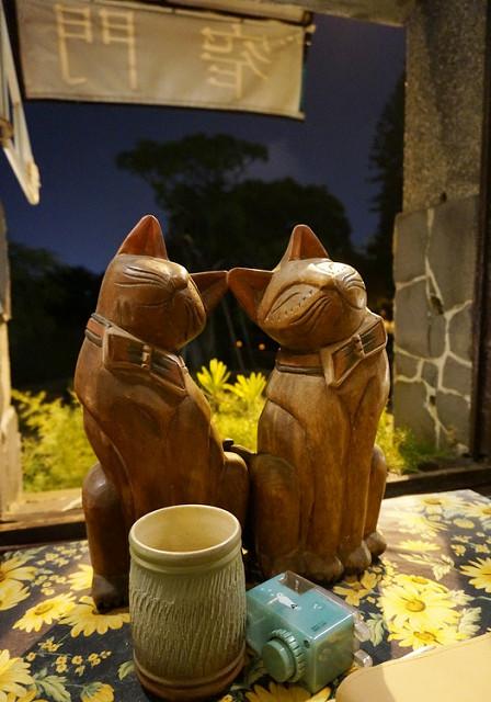 [台南]文人氣氛門很窄的咖啡館-窄門咖啡 @美食好芃友