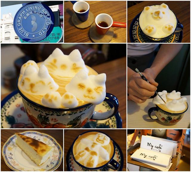 [高雄]咖啡杯裡玩躲貓貓!? My cofi @美食好芃友