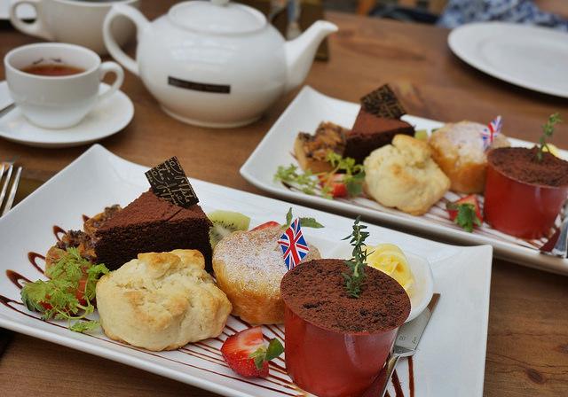 [高雄]英式花園X浪漫美味分享下午茶-布登小鎮BOWDON TOWN @美食好芃友