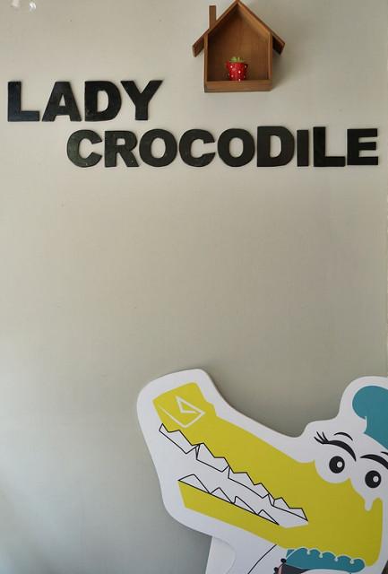 [高雄]少女必訪下午茶!手工甜點一網打盡-Lady crocodile @美食好芃友