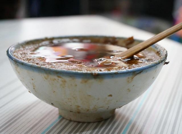 [台南]國華街老字號的傳承-一味品碗粿魚羹 @美食好芃友