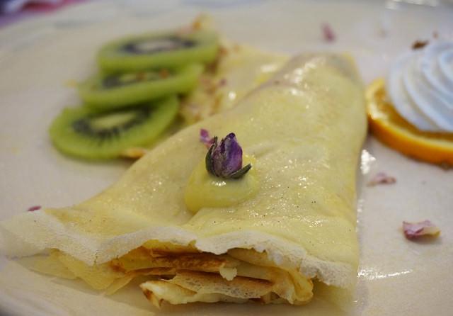 [高雄]木製小屋享法式薄餅午茶-Chez Alexandre 亞力的家 @美食好芃友