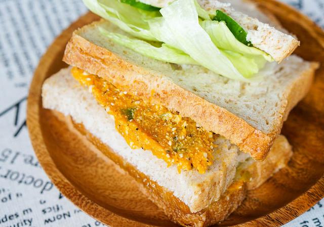 [高雄]創意天然美味夾餡三明治!古錐小餐車早餐-原味好食 @美食好芃友