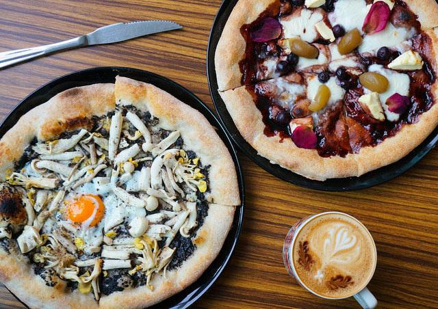 [高雄]手感溫度pizza餅皮飄香!好吃義式蔬食pizza-BetterMan 蔬食披薩專賣 @美食好芃友