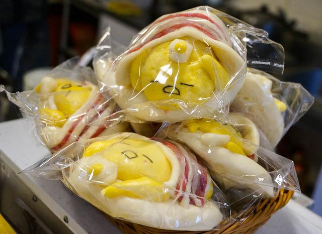 [高雄]萌度破表蛋黃哥饅頭!健康美味早午餐-我的饅頭是吐司 @美食好芃友