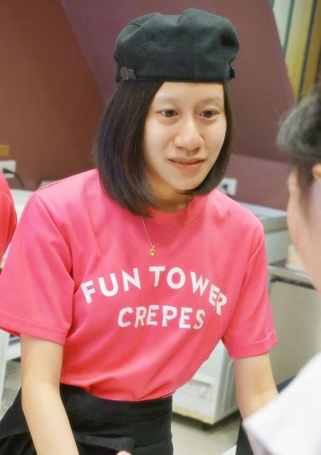 [高雄]繽紛捧花樣好吃軟皮可麗餅-Fun Tower日式可麗餅(高雄明華店) @美食好芃友