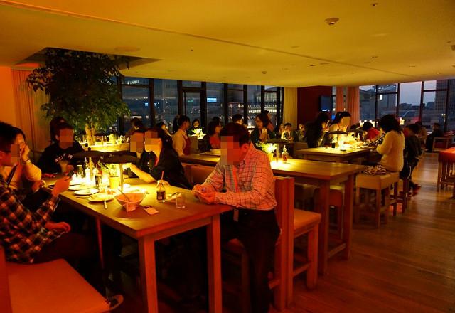 [台北]輕鬆坐擁101夜景享義式料理-VAPIANO義大利餐廳 @美食好芃友