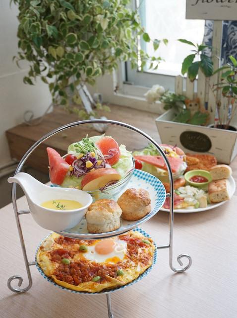 [台南]雙層大份量早午餐!?0628全日早午餐 @美食好芃友