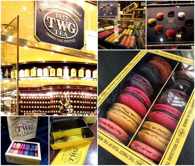 [新加坡]香氣十足茶味馬卡龍@TWG Tea shop @美食好芃友