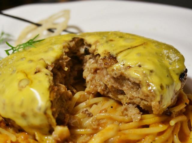 [高雄]啾西日式漢堡排X美味和風義大利麵-食事食堂 @美食好芃友